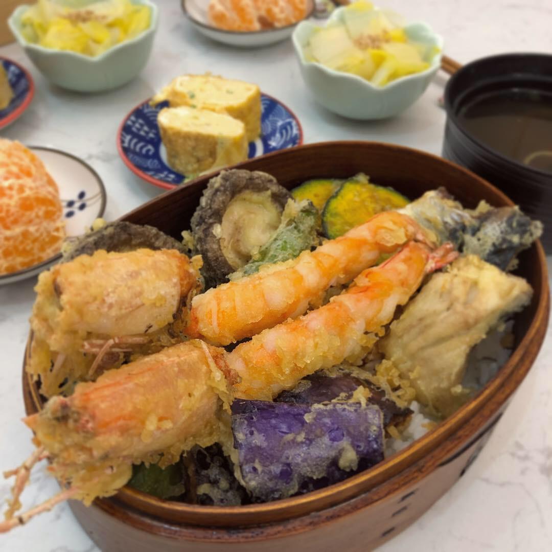 日式天婦羅丼