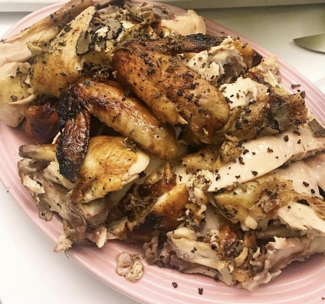 黑松露脆皮燒雞