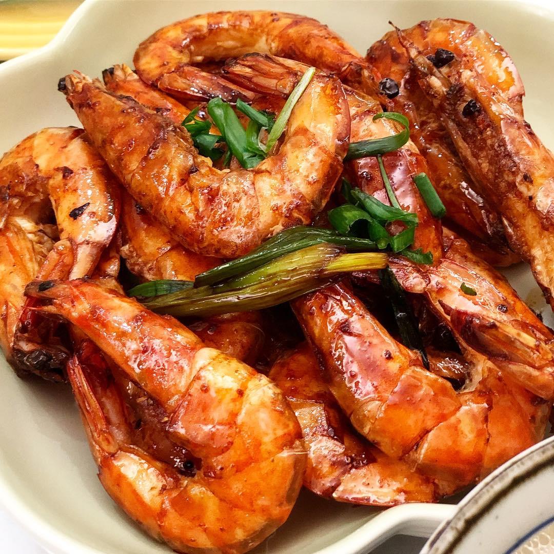 豉油王大蝦