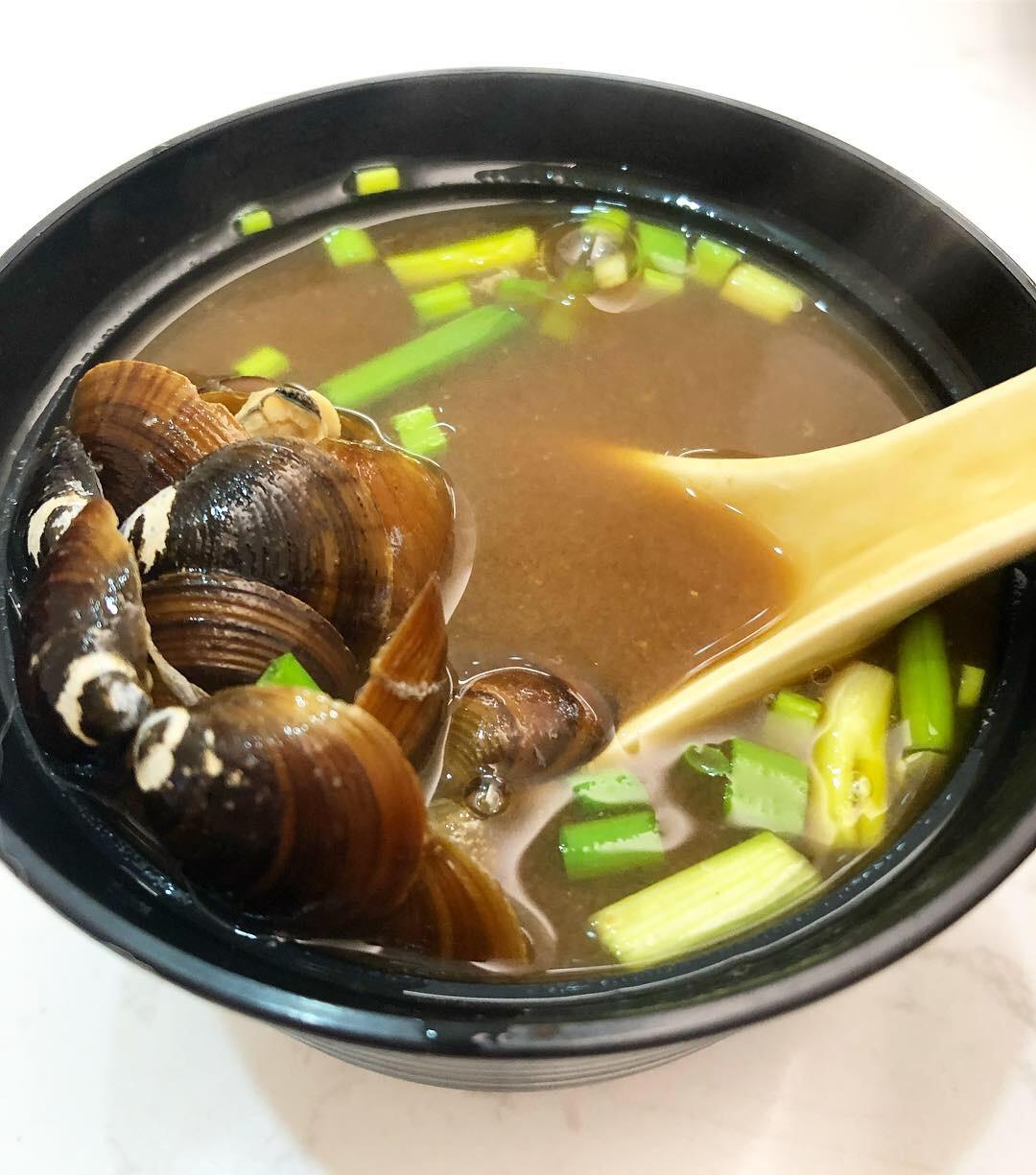 蜆仔紅味噌湯