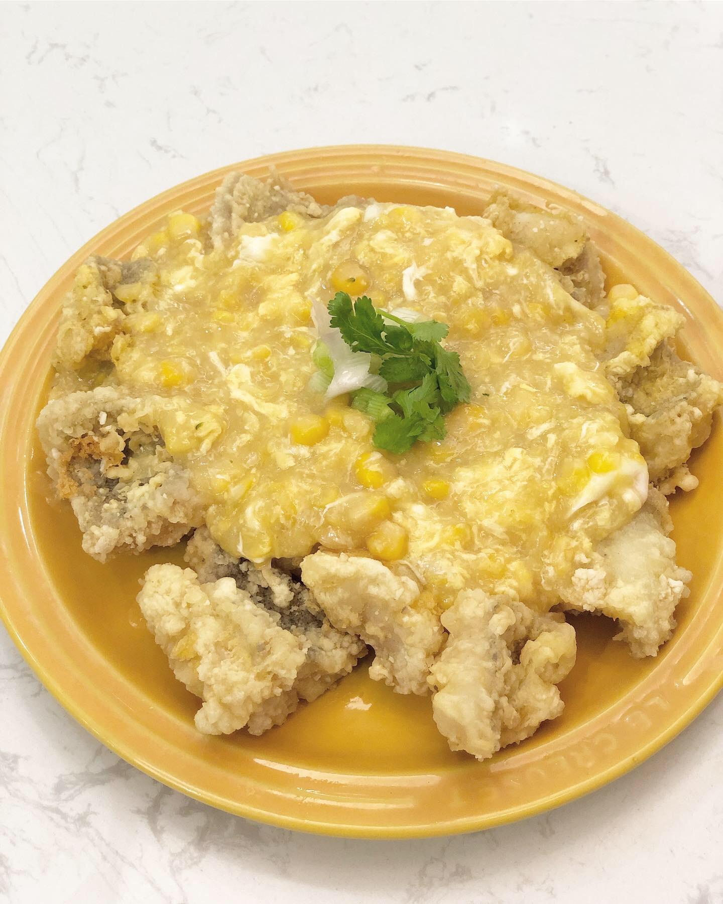 蛋花粟米斑塊