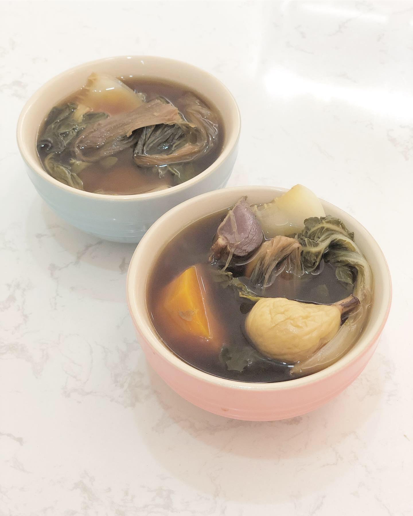 白菜菜乾陳腎湯