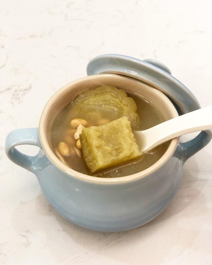 苦瓜排骨黃豆湯