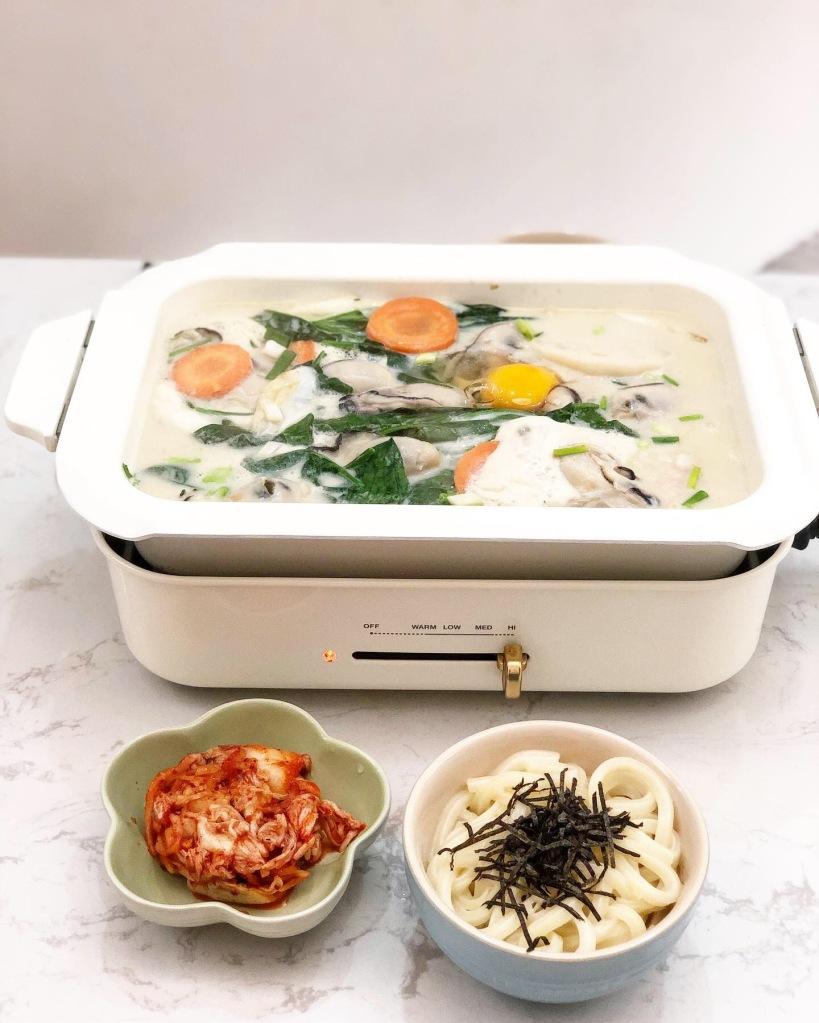豆乳廣島蠔鍋