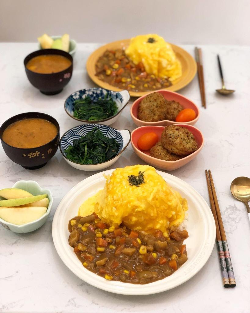 日式咖哩蛋飯