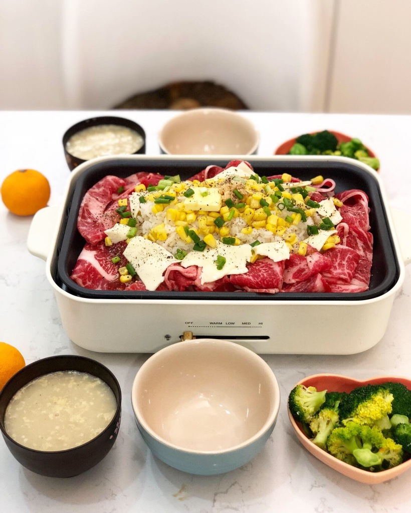 鐵板黑椒汁牛肉飯