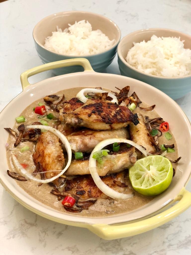 白咖喱香茅雞翼