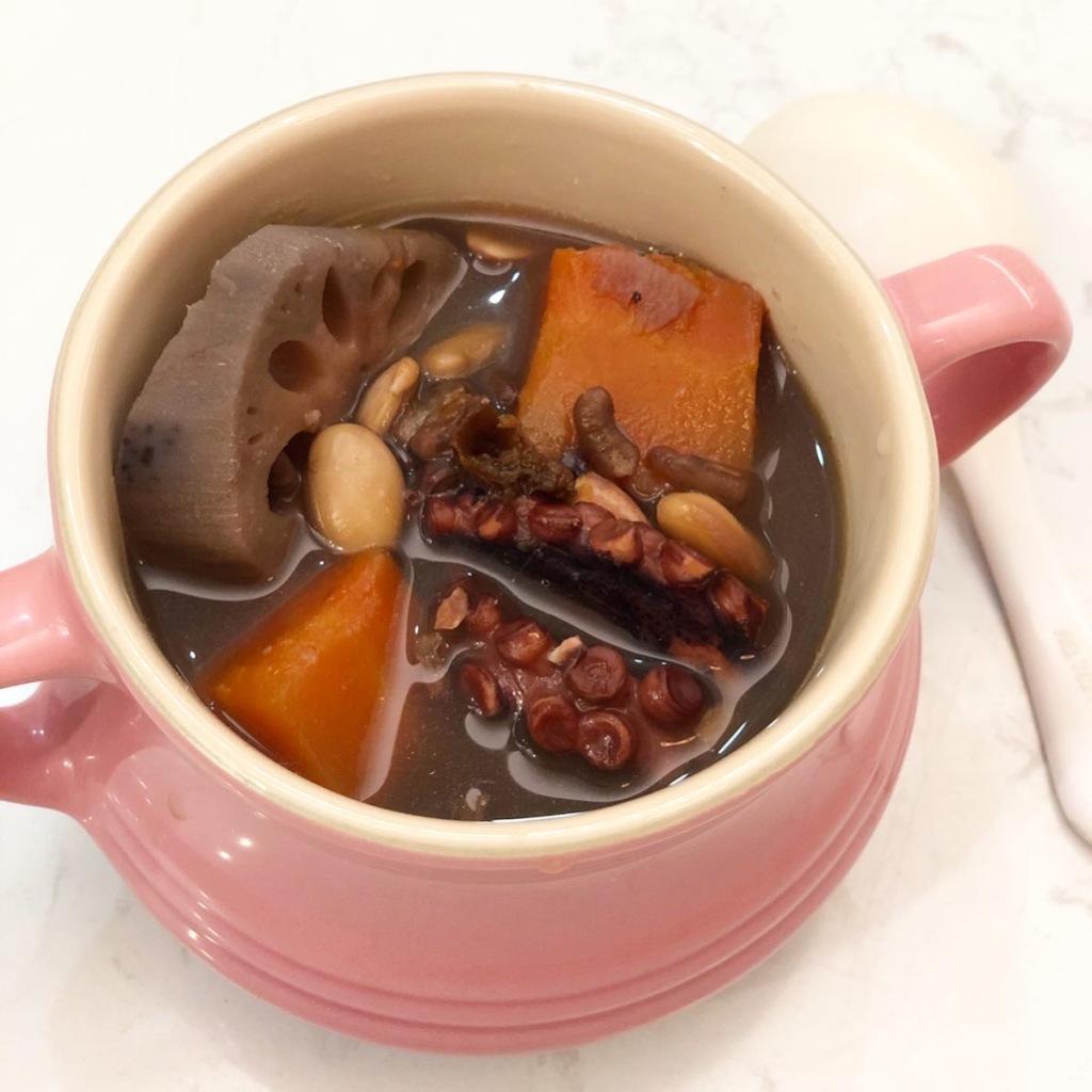蓮藕章魚扁豆赤小豆湯