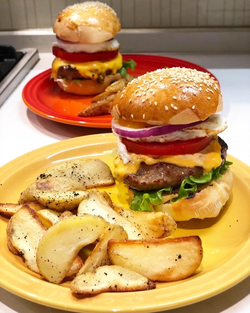 自家制漢堡包