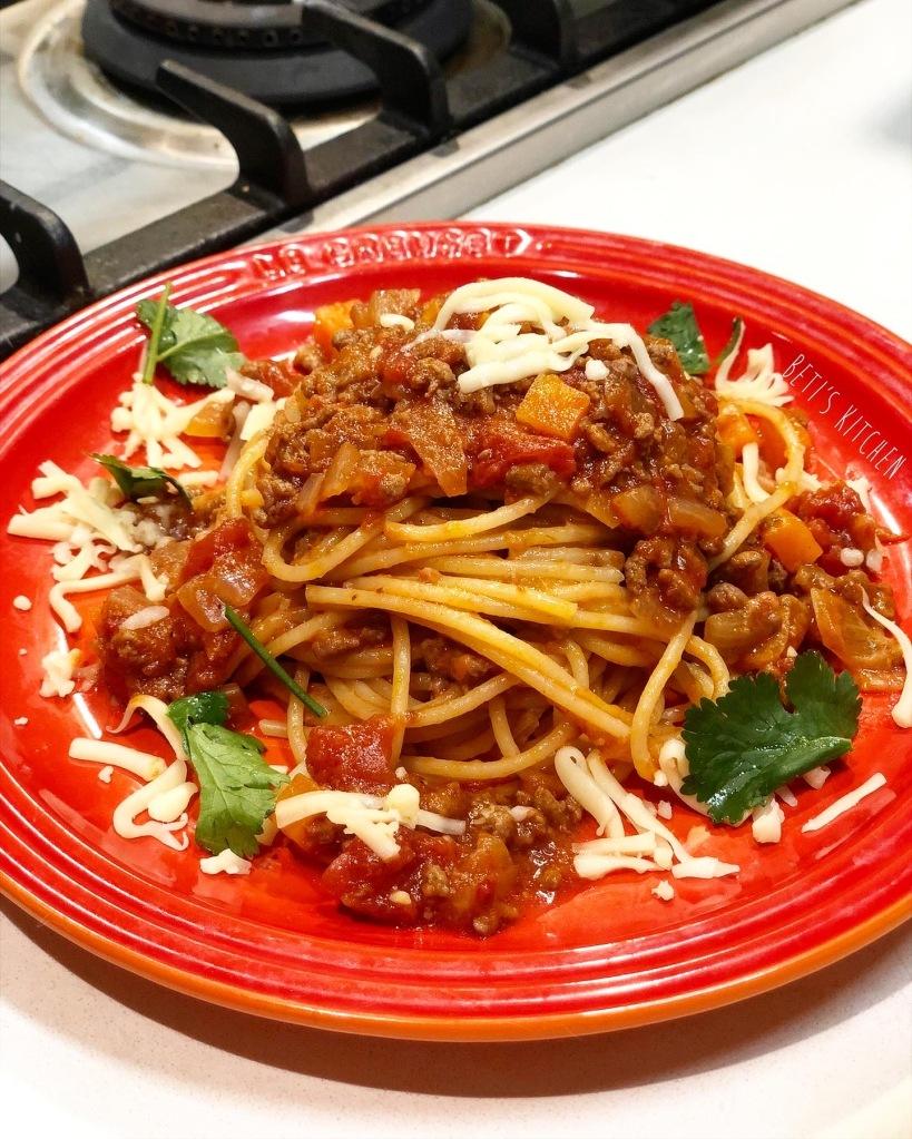 蕃茄肉醬意粉