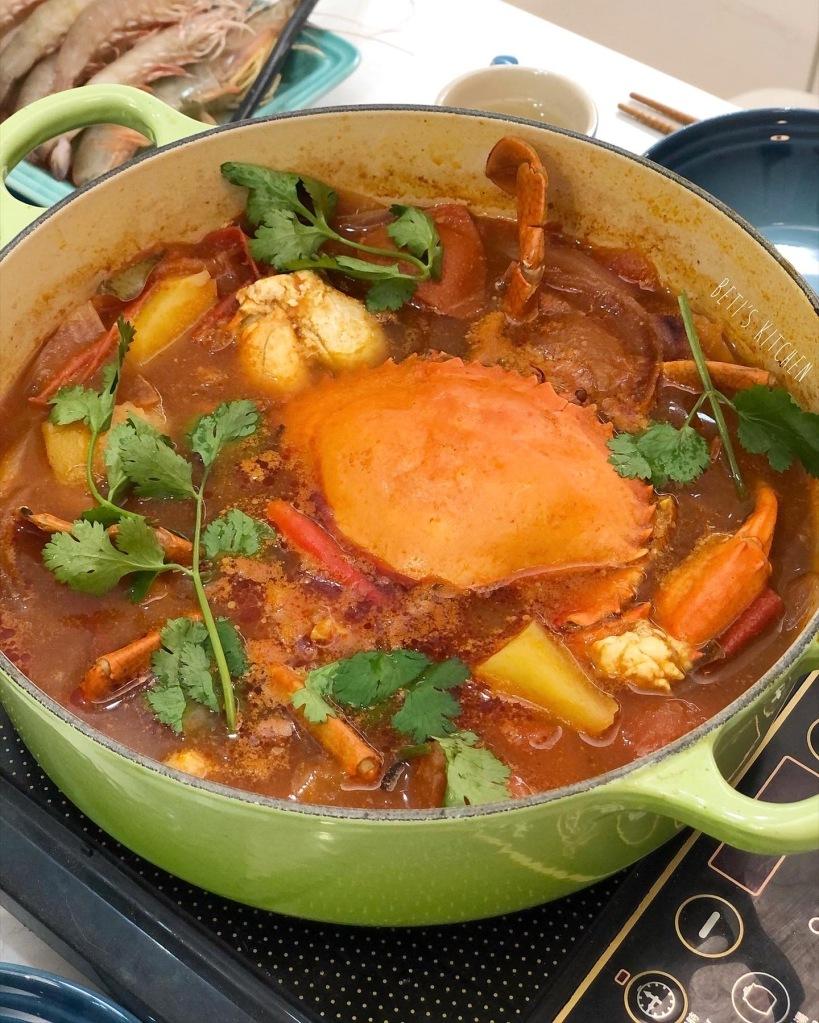 麻辣番茄肉蟹火鍋