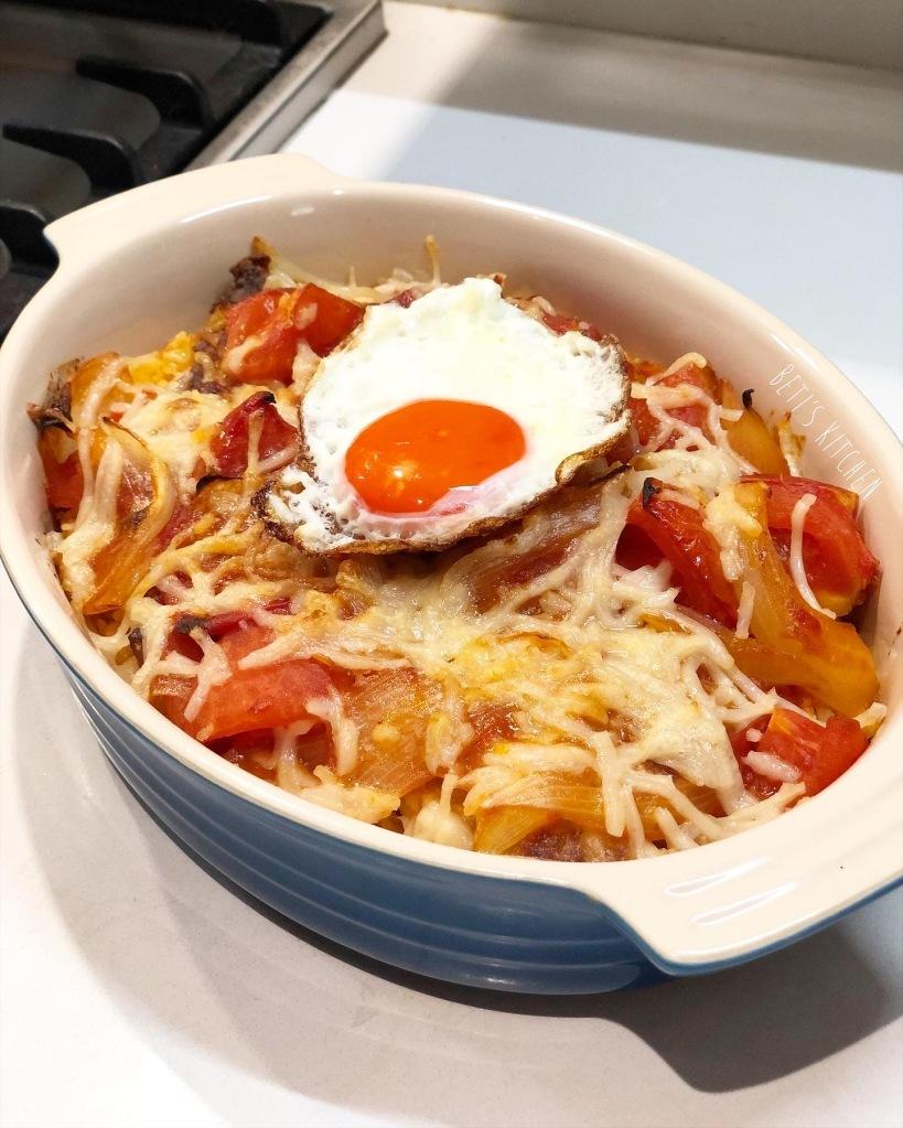 蕃茄焗西班牙黑毛豬扒飯