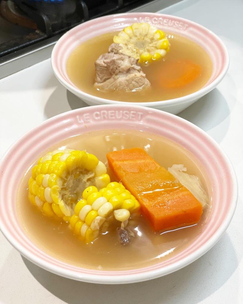 粉葛鯪魚豬骨湯