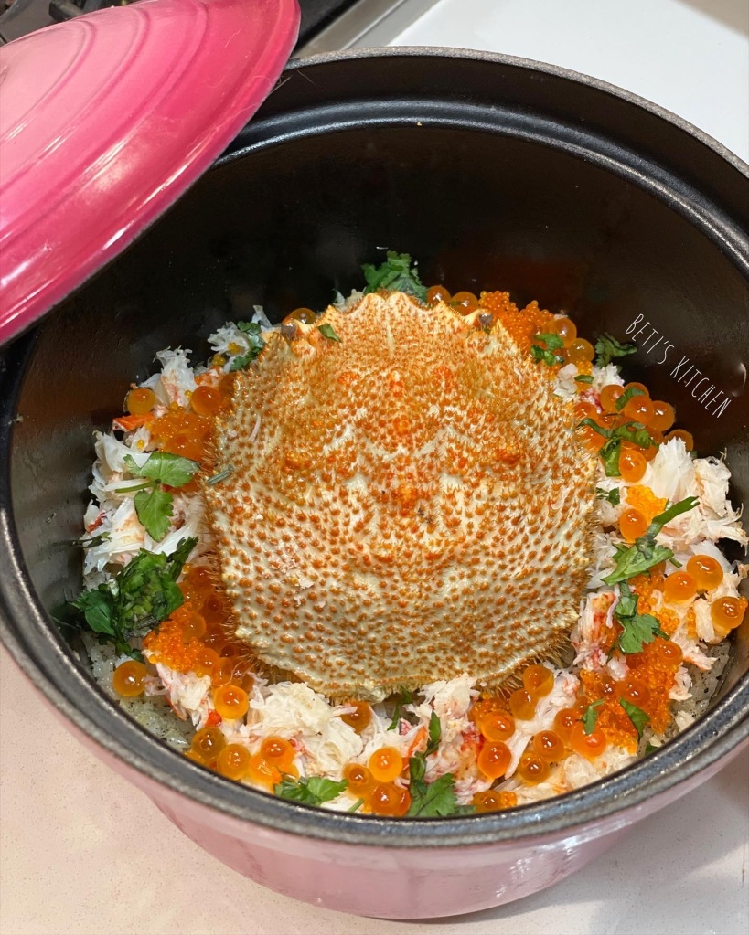 黑松露蟹肉日式飯