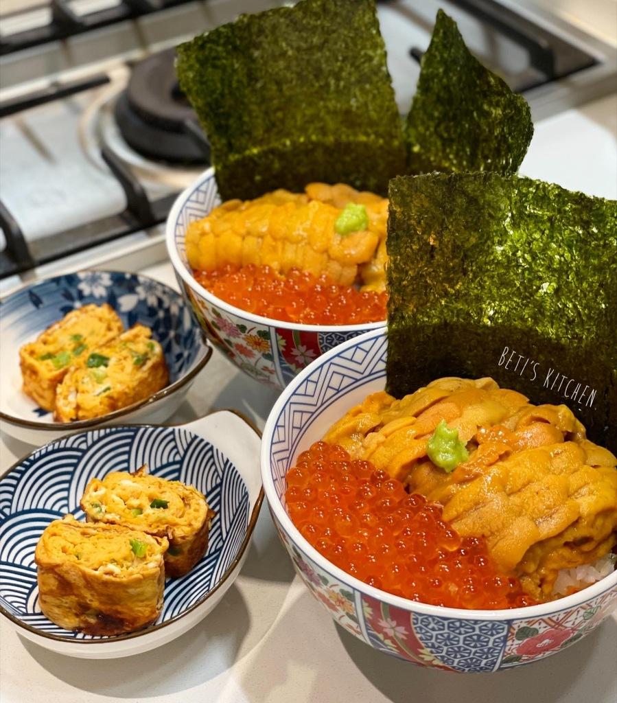 北海道海膽丼飯