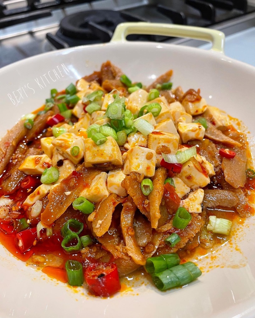 生酮版麻婆豆腐新肉絲
