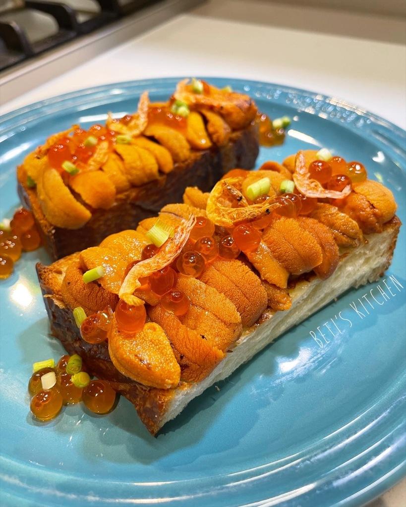海膽多士 Uni Toast