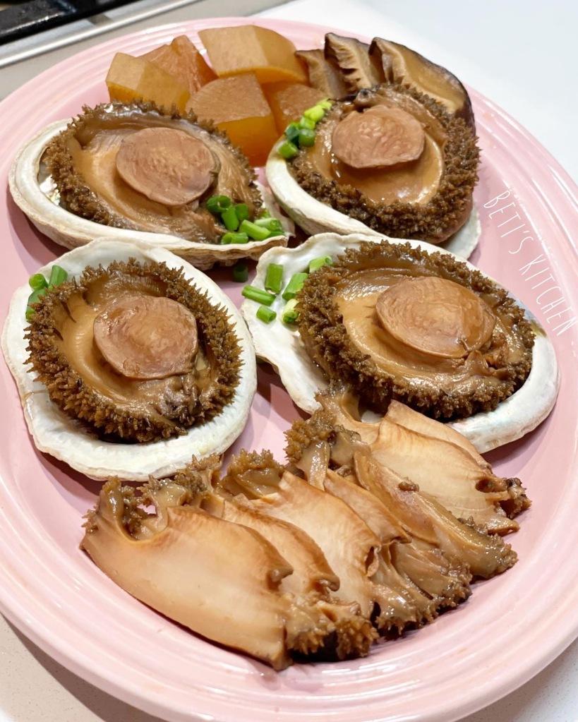 日式磯煮鮑魚
